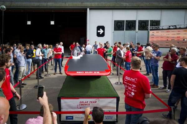 Solar Team, autopresentatie Hangar11
